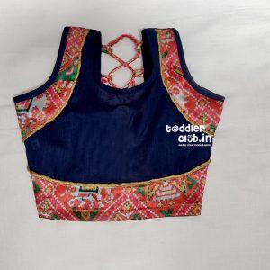 blue blouse front pattern