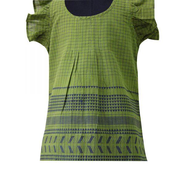 Earthale South Cotton Checks Dress